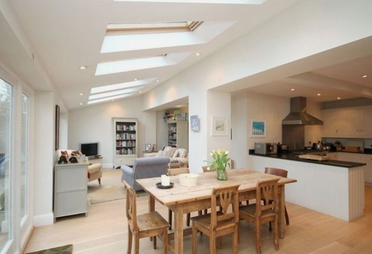 30 Solid Slab Dining Table Pictures Open Plan Kitchen Dining Living Open Plan Kitchen Living Room Open Plan Kitchen Dining