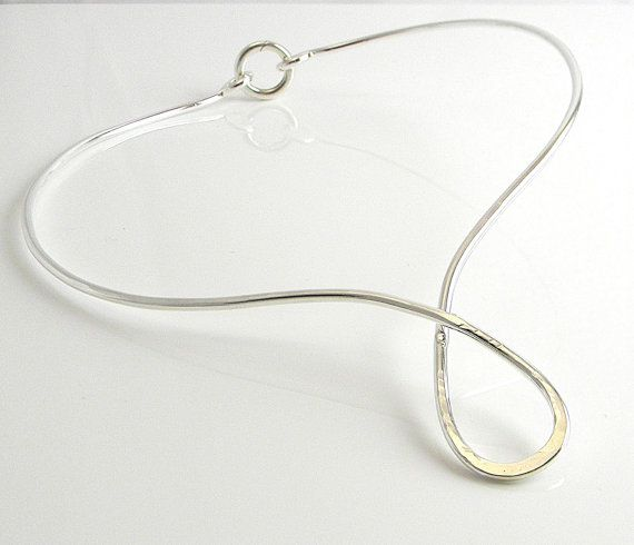 Argentium lockable day collar. A dress collar. For parties and events?