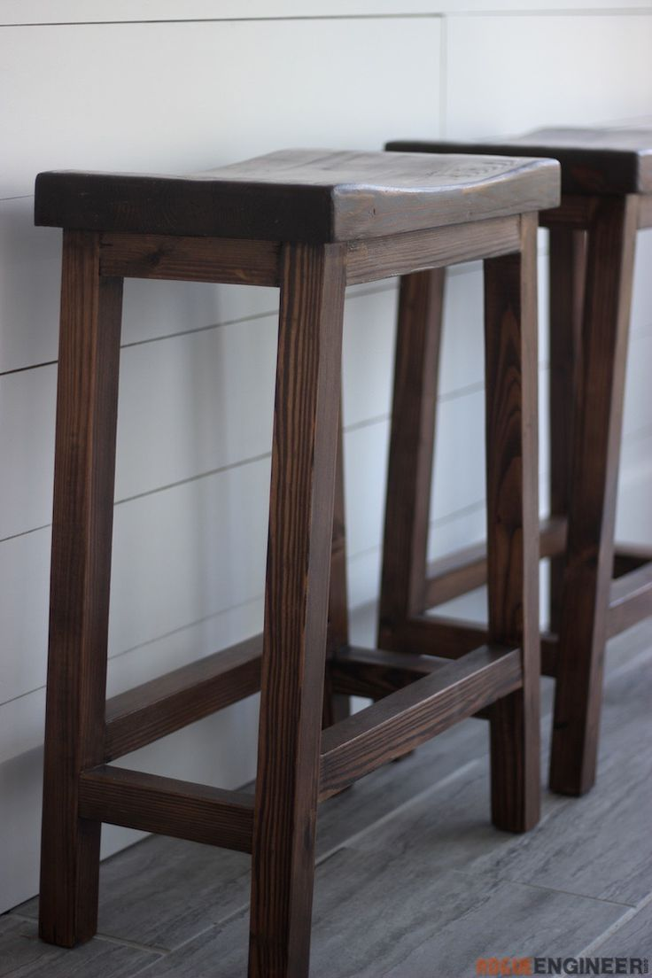 counter height bar stool how to build furniture diy. Black Bedroom Furniture Sets. Home Design Ideas