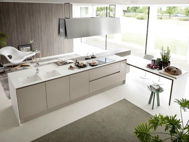 INTEGRA Kitchen with island by Pedini