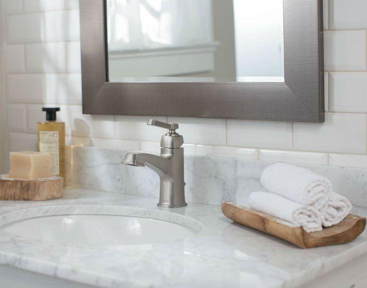 Best Bathroom Images On Pinterest Bathroom Ideas Bathroom - Moen icon bathroom faucet for bathroom decor ideas