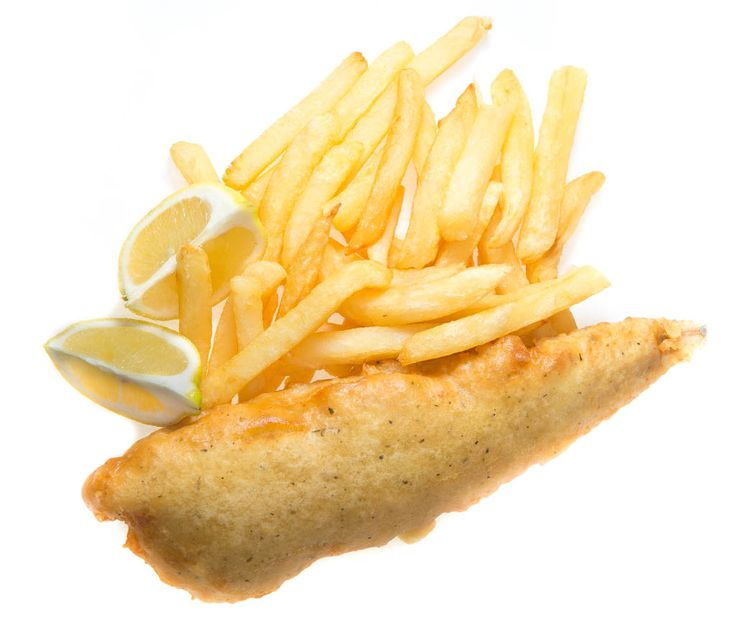 Small Chips with small Hake (Fish and Chips) R30. The Fish & Chip Co - 014 537 2670