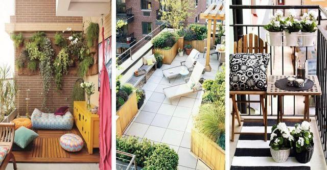 Balkon jak ogród: Czyli jak na małej powierzchni urządzić naturalny raj?
