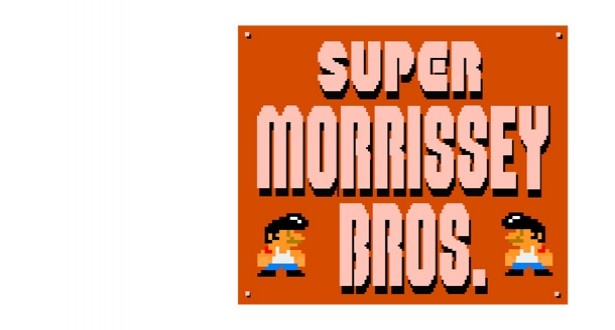 Super Morrissey Bros. - Entertainment - ShortList MagazineMorrissey Bros, Super Morrissey, The Smith, Videos Games, The Games, 8Bit, Super Mario Bros, 8 Bit, Charms Man