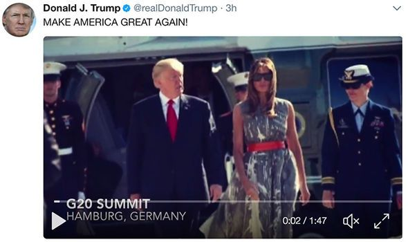'Make America great again!' Donald Trump rounds up G20 triumphs with viral video - http://buzznews.co.uk/make-america-great-again-donald-trump-rounds-up-g20-triumphs-with-viral-video -