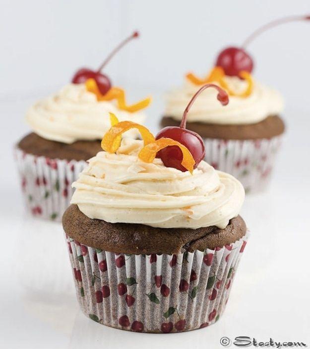 Gluten-Free Chocolate Old-Fashioned Cupcakes | 33 Amazing Gluten-Free Desserts For Valentine'sDay