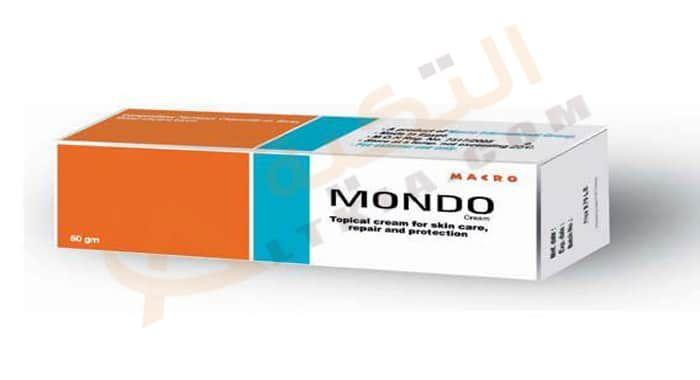دواء موندو Mondo كريم للعناية بالجلد من الجفاف الكريم يتم استعماله في العناية بالبشرة وحمايتها من الإصابة بجفاف الجلد لأنه يحتوي Topical Toothpaste Facial
