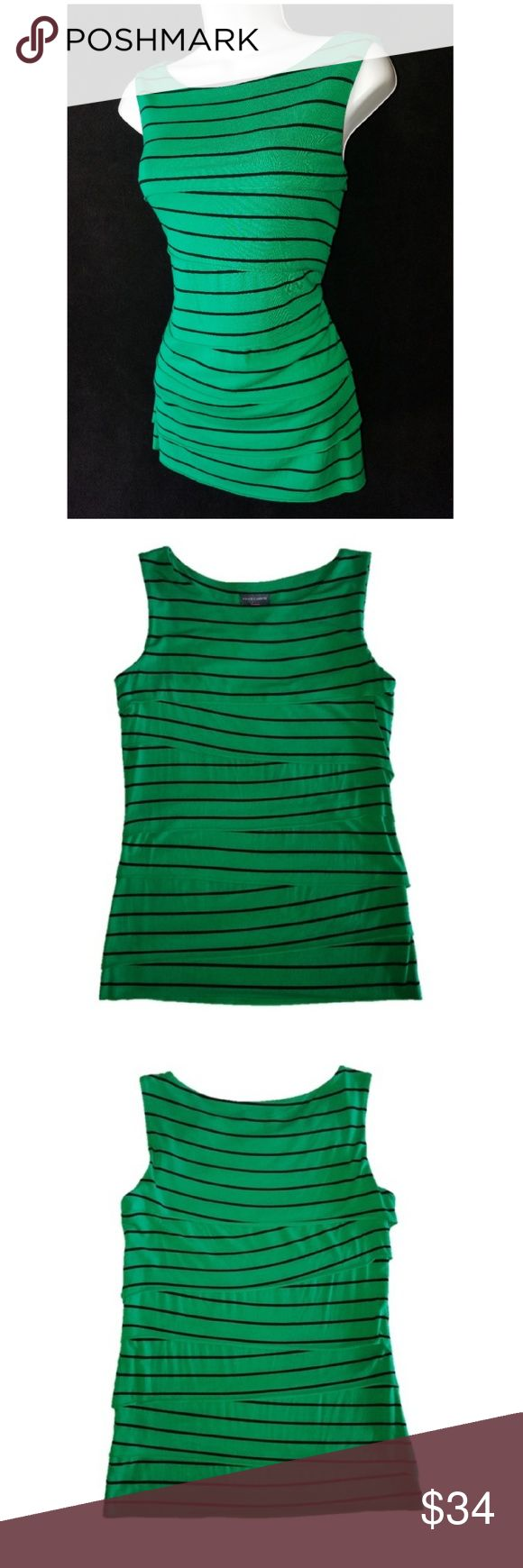VINCE CAMUTO Bandage Tiered Top Small VINCE CAMUTO Bandage Tiered Top Excellent Condition Size Small Vince Camuto Tops Tank Tops