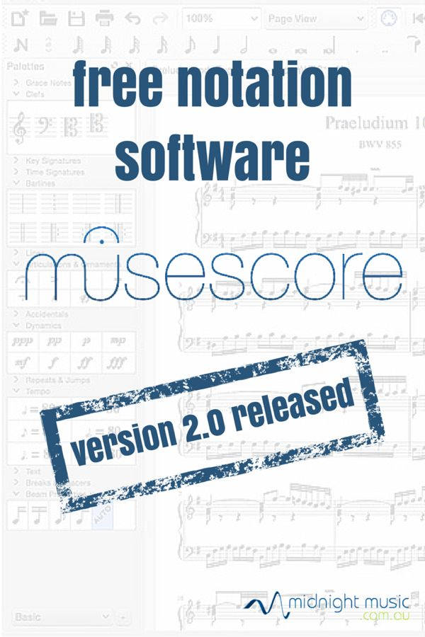 A new version of MuseScore - free music notation software - has been released.  Click through to download a FREE MuseScore Cheatsheet.