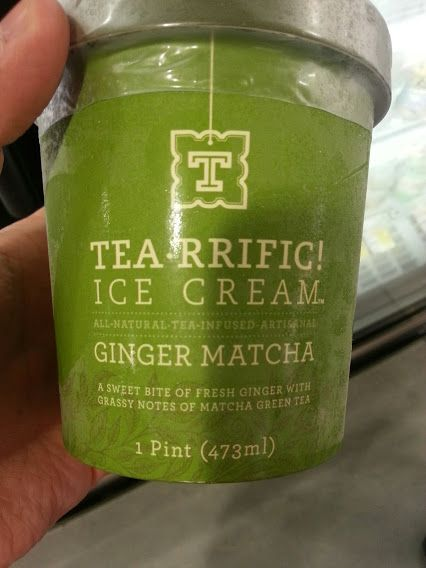 TEA-riffic ice cream shared by my tea friend @World of Tea #tea #icecream