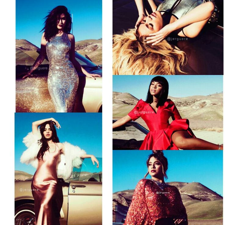 7/27 Album Fifth Harmony: i love the pictures for the new album/tour