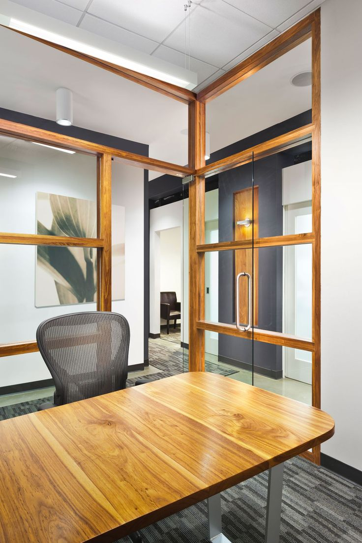 Private Office With Wood Details A Images Dental Colors