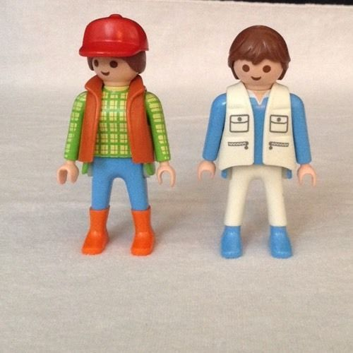 REPLACEMENT Playmobil 4009 Super Set Animal Care Station Zoo Vet Clinic PEOPLE  #PLAYMOBIL
