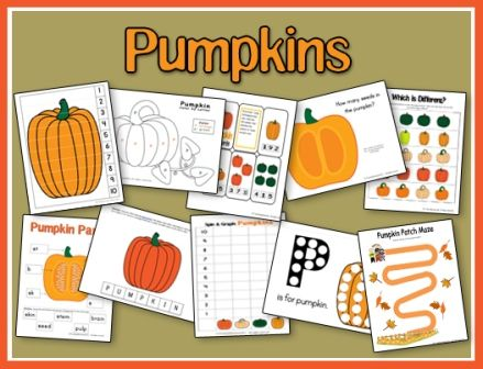 """Check out our new and expanded """"Pumpkin"""" unit! We've added a few new printables, which you can download. All myprintables are in one easy download. Just click the unit imageto download a single zipped file of all the printables. You will need to be able to view pop-ups to download the unit, as it will …"""