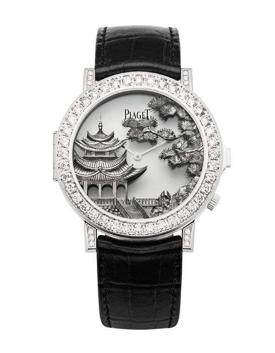 Piaget Mythical Journey http://www.vogue.fr/joaillerie/shopping/diaporama/l-invitation-au-voyage-montres-metiers-d-arts-japonisants/16840/image/894066#!piaget-mythical-journey