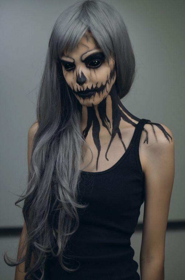 Epic Halloween Makeup Ideas - Pumpkin Queen