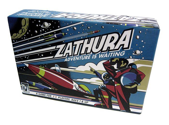 Zathura Game Mid-Century Modern Packaging