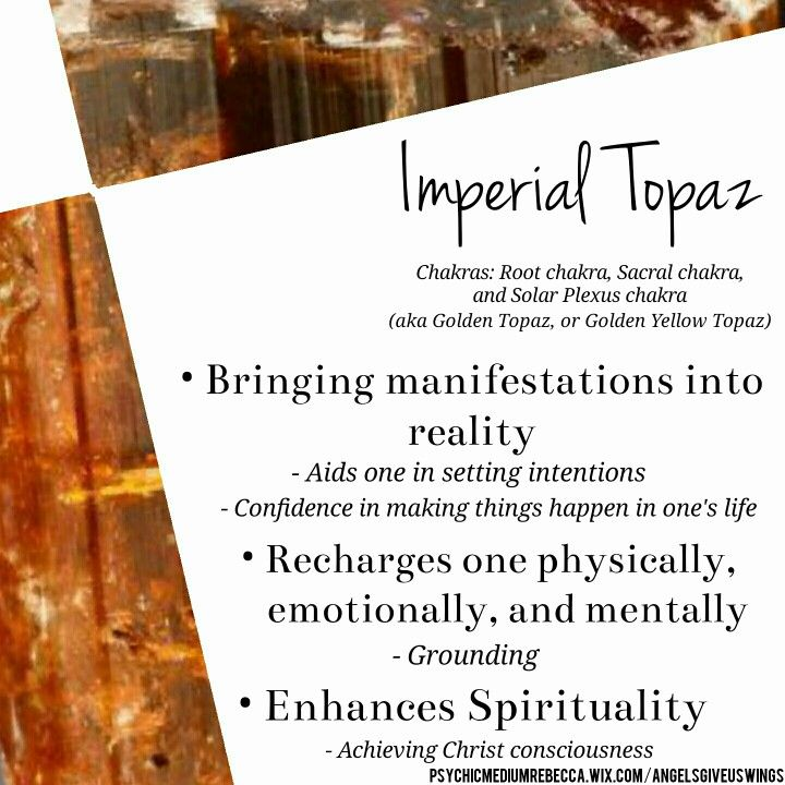 Imperial Topaz meaning