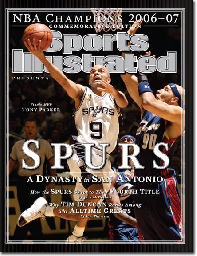 san antonio spurs | ... > San Antonio Spurs > San Antonio Spurs Sports Illustrated (foto