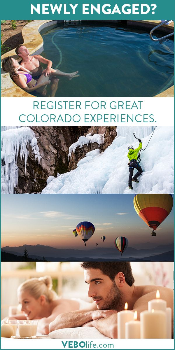 VEBO is a wedding registry for experiences.  Couples register for real experiences, from beer tasting to massages to snowmobiling.  Collect moments, not things.