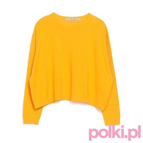 Żółty sweter, Zara #polkipl