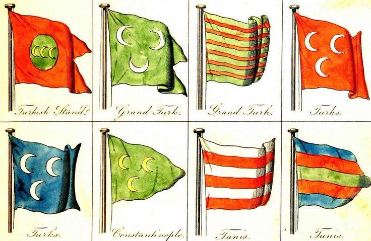 Ottoman Navy Banners (Osmanlı Donanma Sancakları)