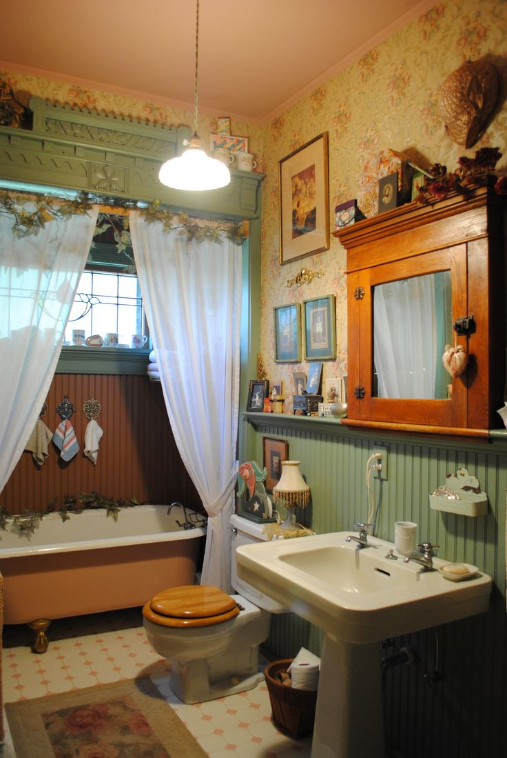 12 best period bathroom images on pinterest victorian bathroom the guest bath actually the house didn t come with bathrooms we