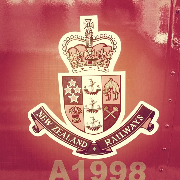 A glimpse at one of the beautifully restored #heritage #train carriages owned by #feildingsteamrail #nz #newzealand #instagram