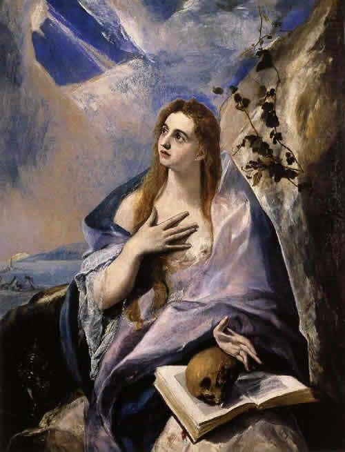 エル・グレコ マグダラのマリア 絵画の解説