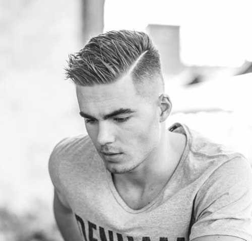 short hair for gentleman