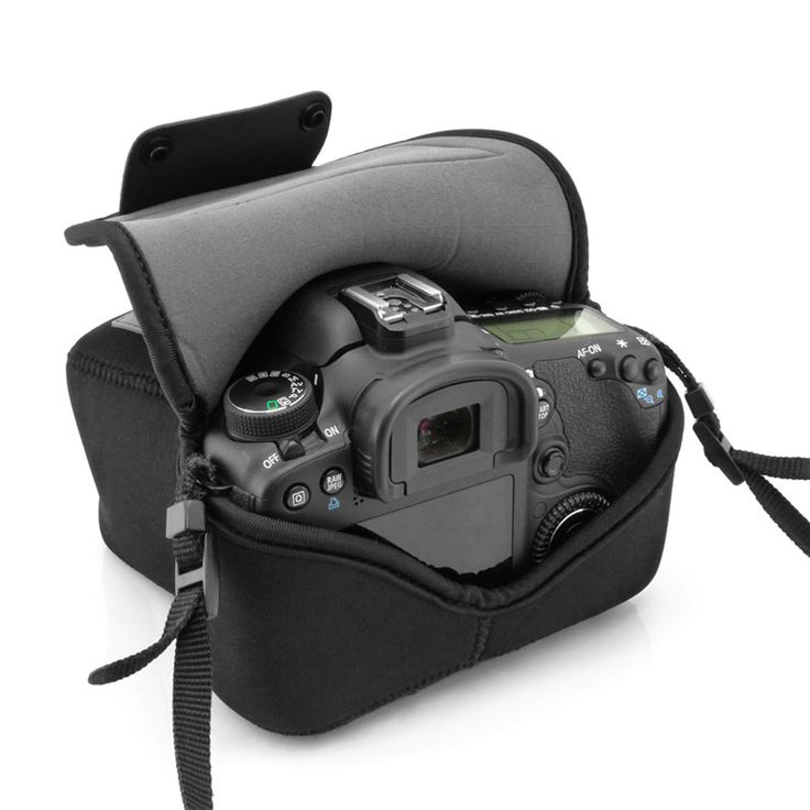 Protect your DSLR Camera at all times! Carry in your bag , on your hip , around your neck and more! The most portable camera companion.