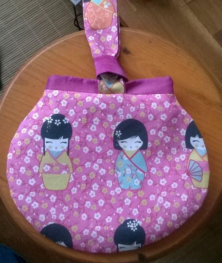 Un petit #sac Kocotte #kawai par Karine !  Patron de #couture Sacôtin