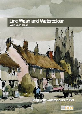 DVD....Line Wash and Watercolour DVD with John Hoar