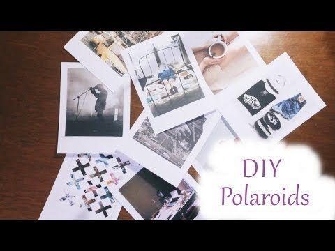 ♡ DIY: Fotos tipo Polaroid ♡ - YouTube