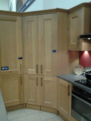 Wickes larder  Kitchen  Kitchen Cabinets Corner larder