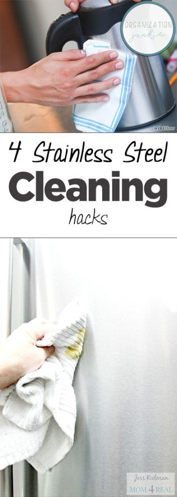 4 Stainless Steel Cleaning Hacks -