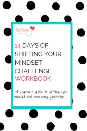 This 47-page interactive workbook is designed to challenge you to embrace positive thinking and start taking little steps every day to change your life.