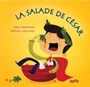 Une jolie critique de mon album, «La salade de César» publié dans Le journal sans papier du TÉLUQ