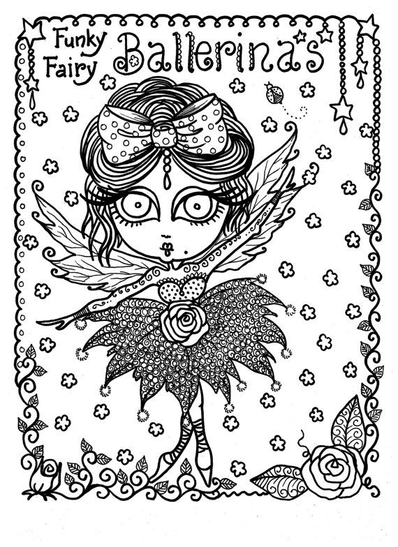 free funky coloring pages - photo#13