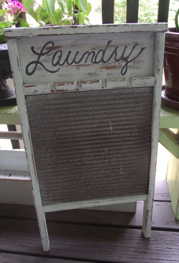 Vintage Washboard.... I used one like this to scrub our socks for my mom.  B.