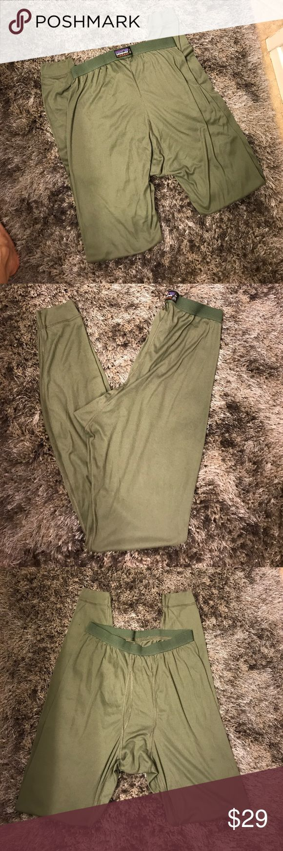 Men's Patagonia tights Great condition men's Patagonia tights size L Patagonia Pants