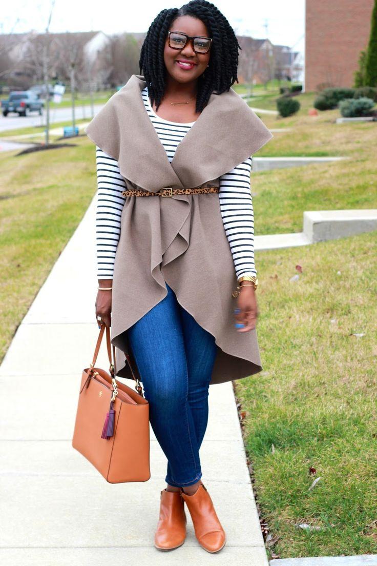 Chioma's Evolution of Style - Longline Vest + Camel Pops