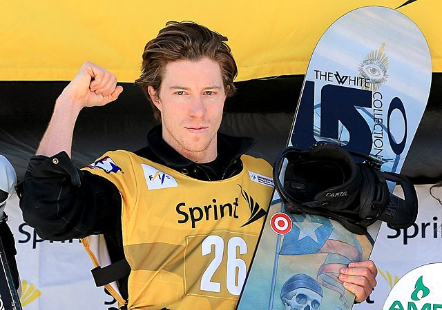 Shaun White Category: Snowboarding