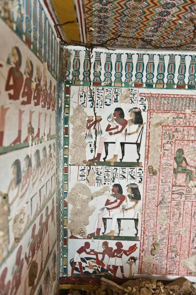 Archaeologists Uncover Ancient Egyptian Tombs With Stunning Murals Part 61