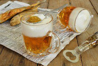 Dobre vypadá však?:)) Na prípravu dezertu budete potrebovať len dve ingrediencie...Nebojte sa žiadne pivo....