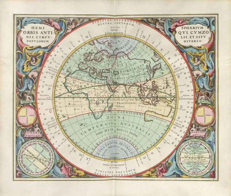 Sisters Warehouse: Antique Maps - Mappe antiche