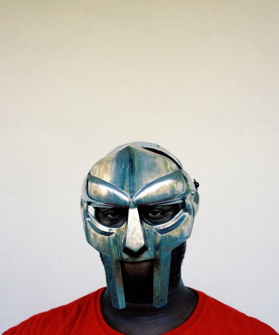 MF DOOM the source photo for the cover of Madvillainy by Eric Coleman