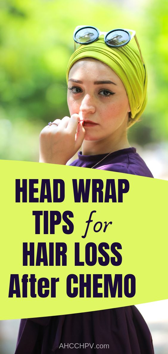 Hair Loss After Chemo Head Wraps