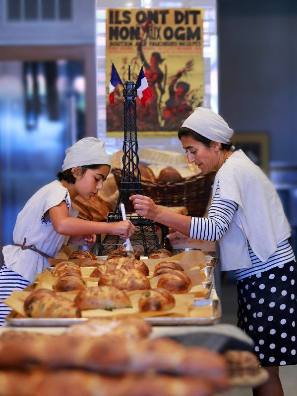 Goguette: This European-style, family-owned bread bakery has drawn a following among local foodies for the flavorful, long-fermented sourdough loaves that owner Nas Salamati bakes to crusty perfection in a huge, masonry oven imported from France. 59 Montgomery Dr, Santa Rosa.