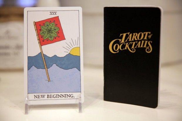 Tarot-inspired cocktail recipes –$24, Tender Loving Empire